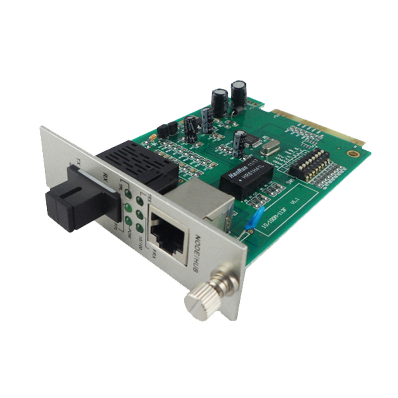 10/100M single mode single fiber Card Type Fiber Media Converter