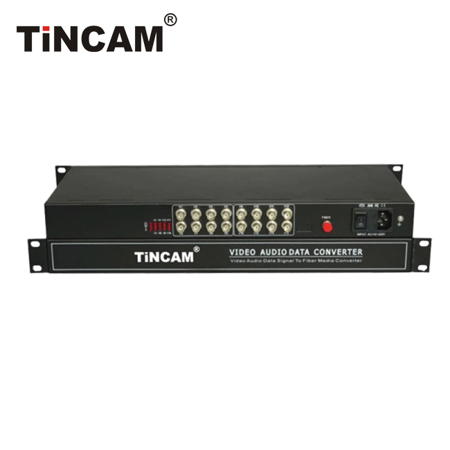 16-Channel Video Optical Transceiver