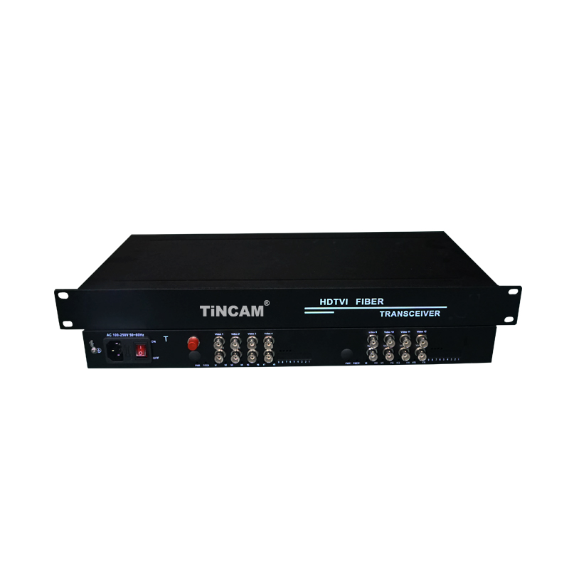 16-Channel Video   HD - Video Optical Transceiver
