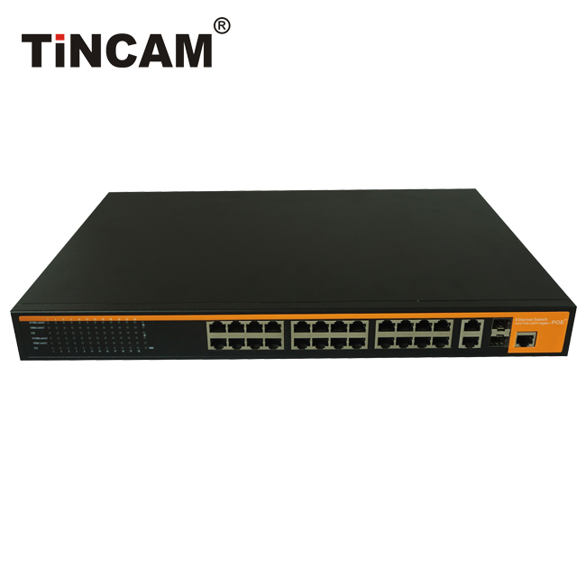 24-port  10/100M POE Switch